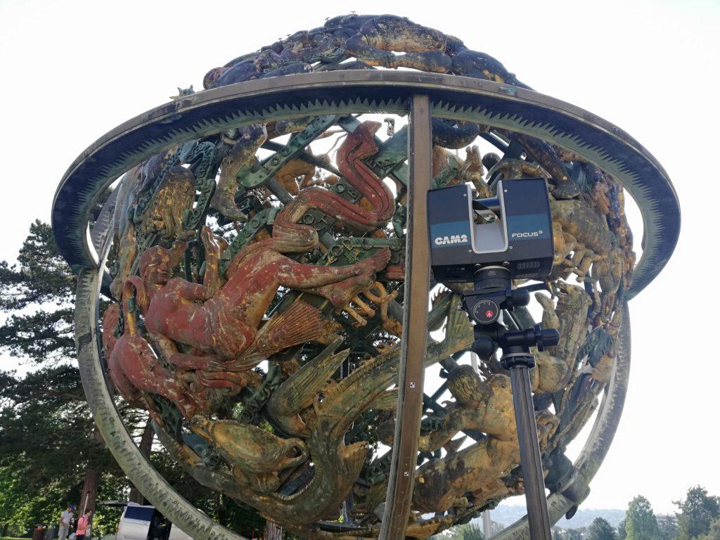 Sfera Celeste - Wilson Woodrow Memorial Palazzo delle Nazioni Unite, Ginevra